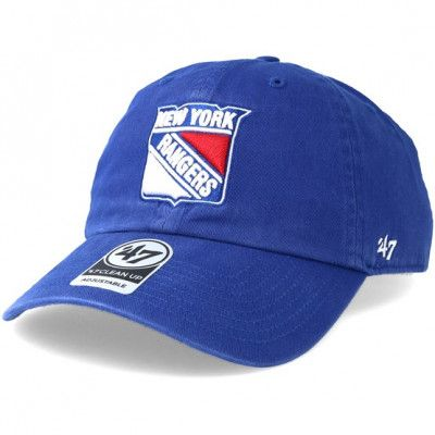 Keps New York Rangers Clean up Royal Adjustable - 47 Brand - Blå Reglerbar