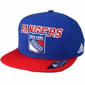 Keps New York Rangers Dassler Brim Blue Snapback - Adidas