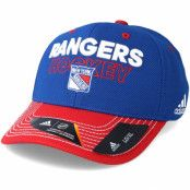 Keps New York Rangers Locker Room Structured Blue Flexfit - Adidas - Blå Flexfit