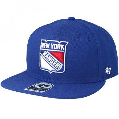 Keps New York Rangers Sure Shot Royal Snapback - 47 Brand - Blå Snapback
