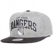 Mitchell & Ness - New York Rangers Baseline Team Arch Snapback
