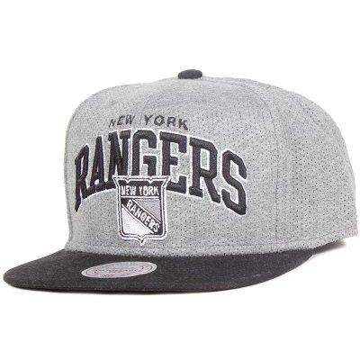 Mitchell & Ness - New York Rangers Baseline Team Arch Snapback