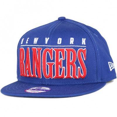 Keps Kids NY Rangers Big Word 9Fifty Snapback - New Era - Blå Barnkeps