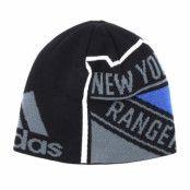 Mössa New York Rangers Jacqurad Black Beanie - Adidas