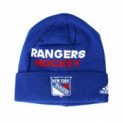 Mössa New York Rangers Locker Room Cuffed Blue Beanie - Adidas