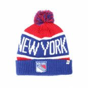 Mössa New York Rangers Breakaway Knit Red Pom - 47 Brand - Blå Tofs