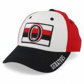 Keps Ottawa Senators Cotton 3 Colour White/Red/Black Adjustable - Adidas - Röd Reglerbar