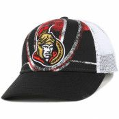 Keps Ottawa Senators Print Structured Adjustable - Reebok - Svart Reglerbar