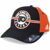 Keps Philadelphia Flyers Strucured Black/Orange Adjustable - Adidas