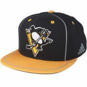 Keps Pittsburgh Penguins Bravo Black/Yellow Snapback - Adidas