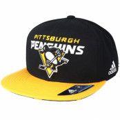 Keps Pittsburgh Penguins Dassler Brim Black Snapback - Adidas - Svart Snapback