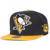 Mitchell & Ness - Pittsburgh Penguins XL Logo 2 Tone Snapback