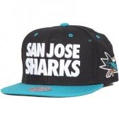 Mitchell & Ness - San Jose Sharks Score Snapback
