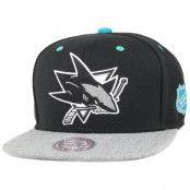 Mitchell & Ness - San Jose Sharks Greytist Snapback