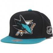 Mitchell & Ness - San Jose Sharks XL Logo 2 Tone