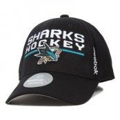 Keps San Jose Sharks Locker Room 2 Flexfit - Reebok - Svart Flexfit