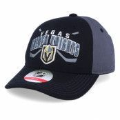 Keps Kids Vegas Golden Knights Fan Faceoff Black/Dark Grey Adjustable - Outerstuff - Svart Barnkeps