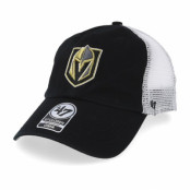 Keps Vegas Golden Knights Blue Hill 47 Closer Mesh Black/White Unconstructed - 47 Brand - Svart Reglerbar