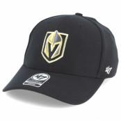 Keps Vegas Golden Knights Contender Black Flexfit - 47 Brand - Svart Flexfit