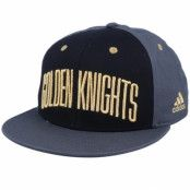 Keps Vegas Golden Knights Flat Brim Black/Grey Snapback - Adidas - Svart Snapback