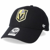 Keps Vegas Golden Knights Mvp Black Adjustable - 47 Brand - Svart Reglerbar