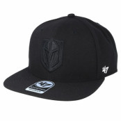 Keps Vegas Golden Knights No Shot 47 Captain Black/Black Snapback - 47 Brand - Svart Snapback