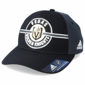 Keps Vegas Golden Knights Strucured Black/Dark Grey Adjustable - Adidas - Svart Reglerbar