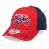 Keps Kids Washington Capitals Fan Faceoff Red/Navy Adjustable - Outerstuff - Röd Barnkeps