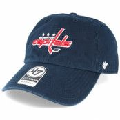Keps Washington Capitals Clean Up Navy Adjustable - 47 Brand - Blå Reglerbar