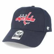 Keps Washington Capitals Mvp Navy Adjustable - 47 Brand - Blå Reglerbar