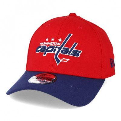 Keps Washington Capitals NHL Essential Red/Blue 39thirty Flexfit - New Era - Röd Flexfit