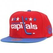 Mitchell & Ness - Washington Capitals XL Logo 2 Tone Snapback
