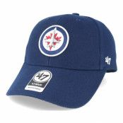 Keps Winnipeg Jets Mvp Navy Adjustable - 47 Brand