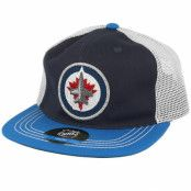 Keps Kids Winnipeg Jets Navy/Blue Trucker - Outerstuff - Blå Barnkeps