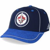 Keps Winnipeg Jets Alpha Navy/Blue Flexfit - Adidas