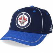 Keps Winnipeg Jets Alpha Navy/Blue Flexfit - Adidas