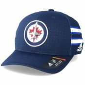 Keps Winnipeg Jets Locker Room Structured Navy Flexfit - Adidas