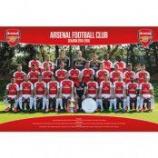 Arsenal Affisch Squad 17