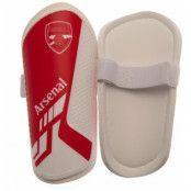 Arsenal Benskydd Barn Röd/Vit