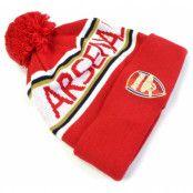 Arsenal Mössa Bobble Röd
