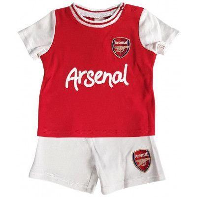 Arsenal Tröja & Shorts Set Barn 3-6 mån