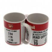 Arsenal Mugg Match Day