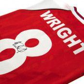 Arsenal Signerad Matchtröja Ian Wright