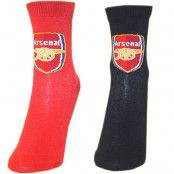 Arsenal strumpor 2-pack Junior 26-30 (UK 9-12)