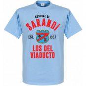 Arsenal Sarandi T-shirt Established Ljusblå XS