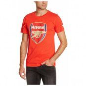 Arsenal T-shirt C-Crest Röd M