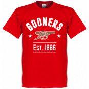 Arsenal T-shirt Established Röd XS