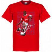 Arsenal T-shirt Legend Ian Wright Legend Röd XS