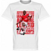 Arsenal T-shirt Legend Ian Wright Legend Vit XS