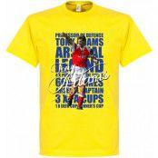 Arsenal T-shirt Legend Tony Adams Legend Gul XS
